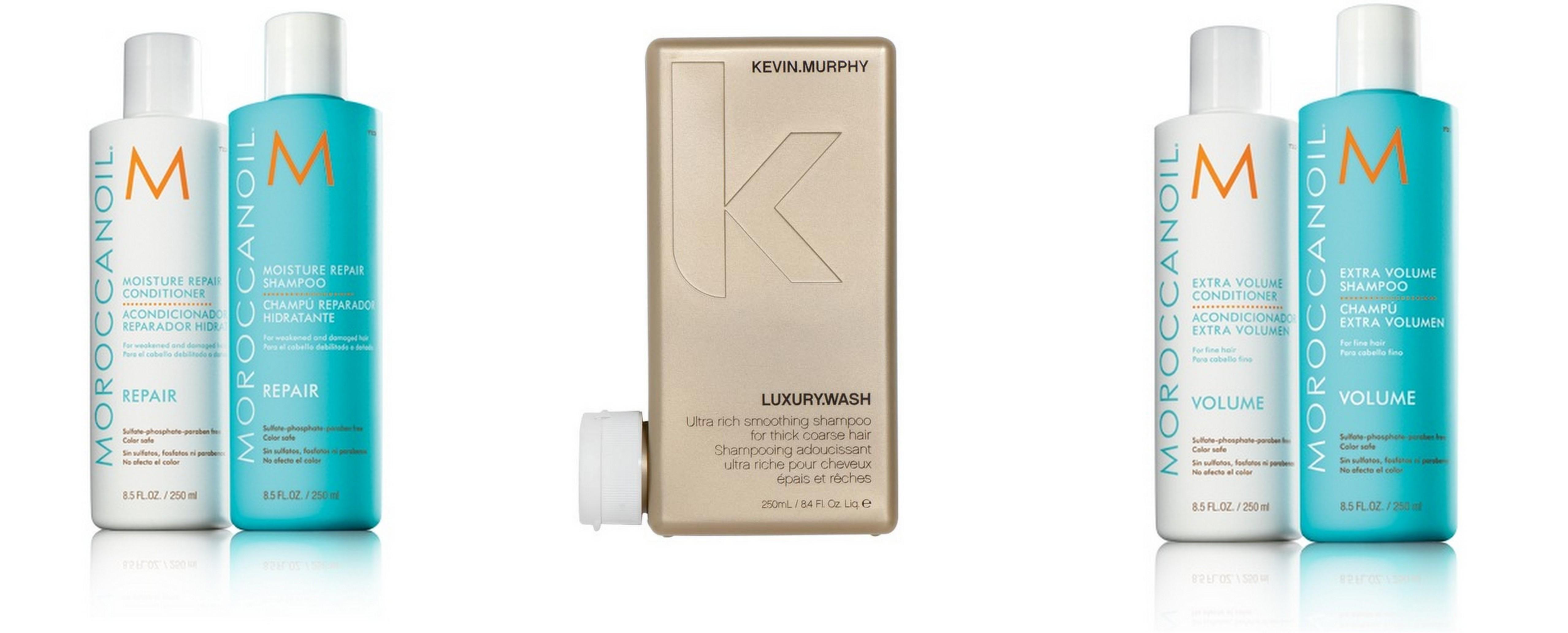 Sulfatfri shampoo udvalg