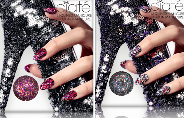 Ciaté Sequined Manicure