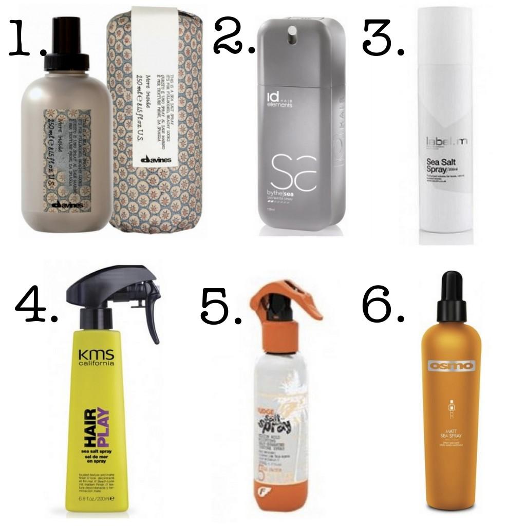 saltvandsspray til håret